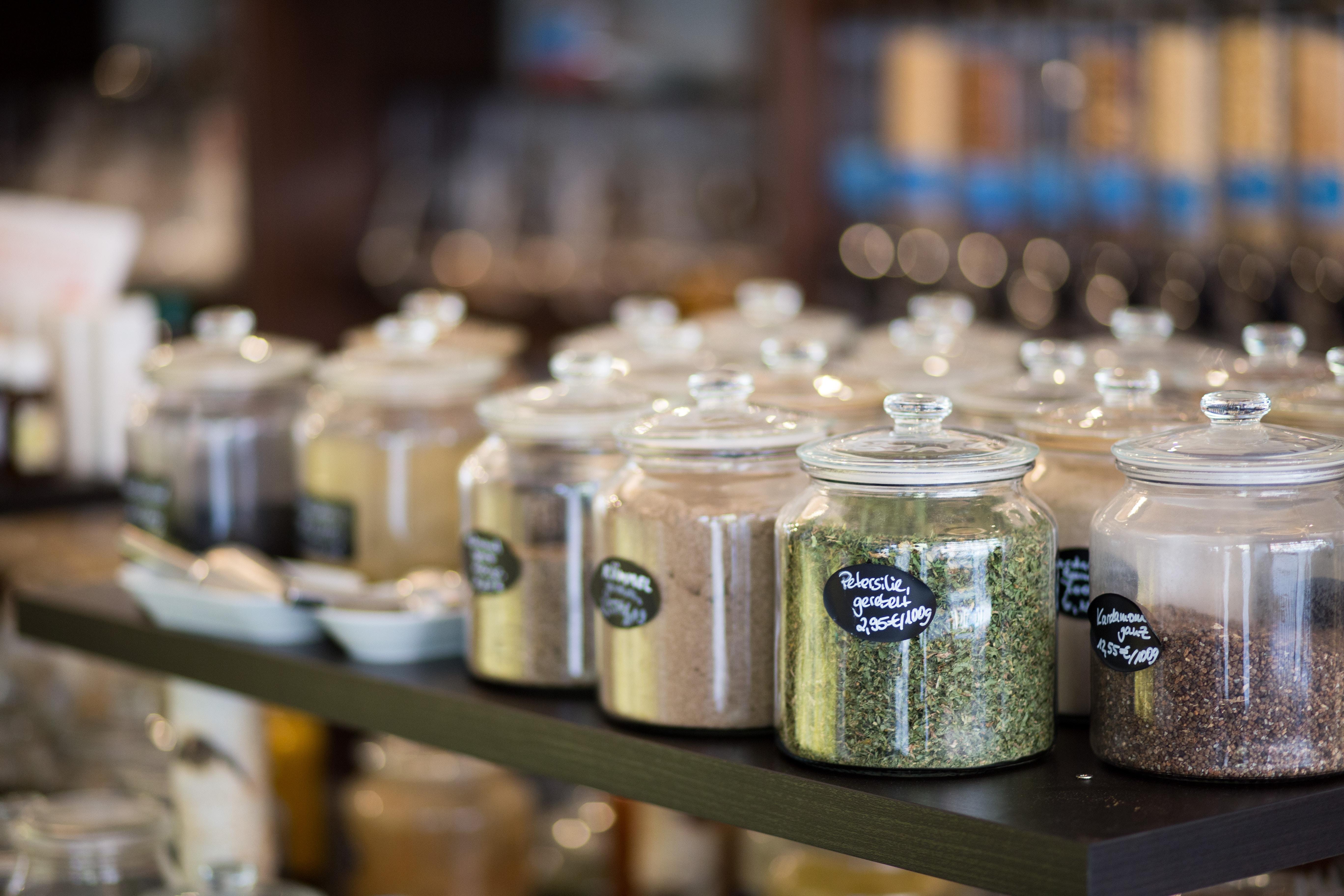 Zero waste jars