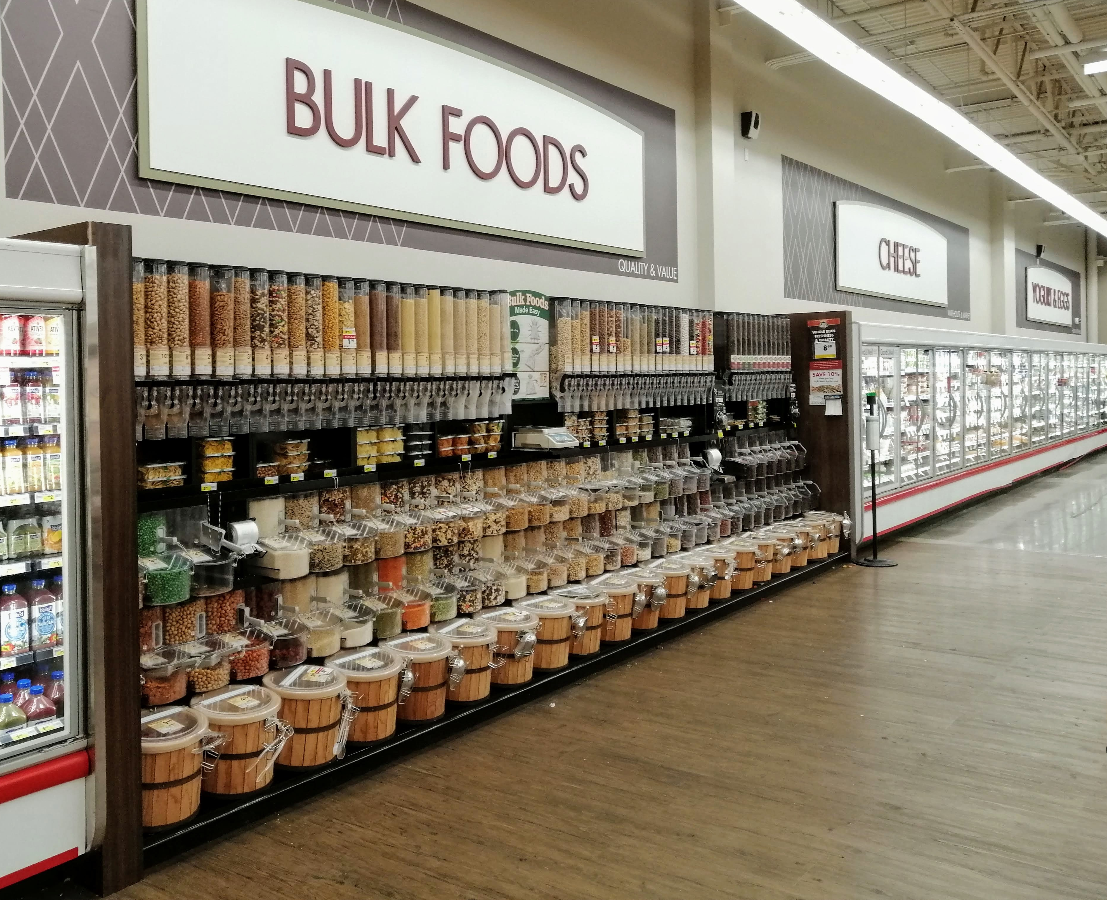 A zero waste heaven bulk aisle