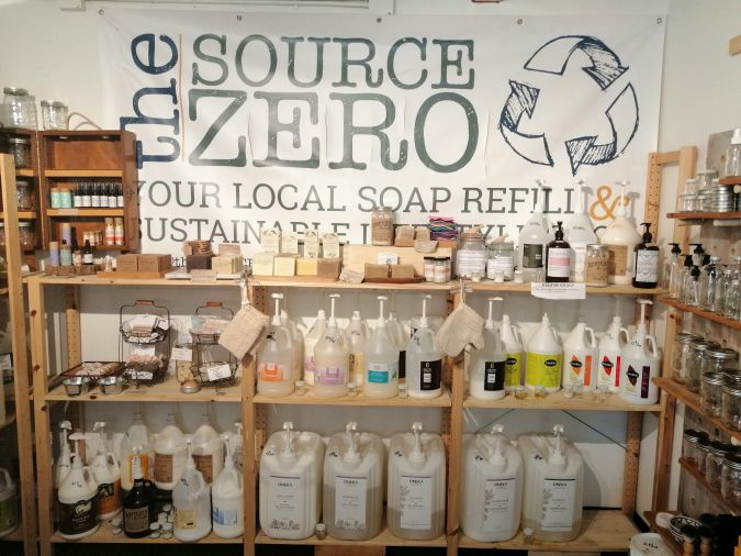 The bulk section at The Source Zero